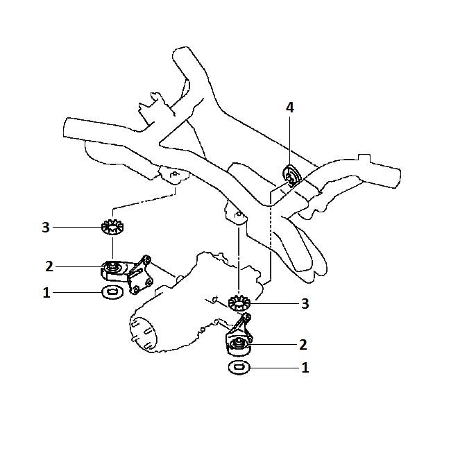 Polyurethane Auto Parts For Mitsubishi Asx Ga2w